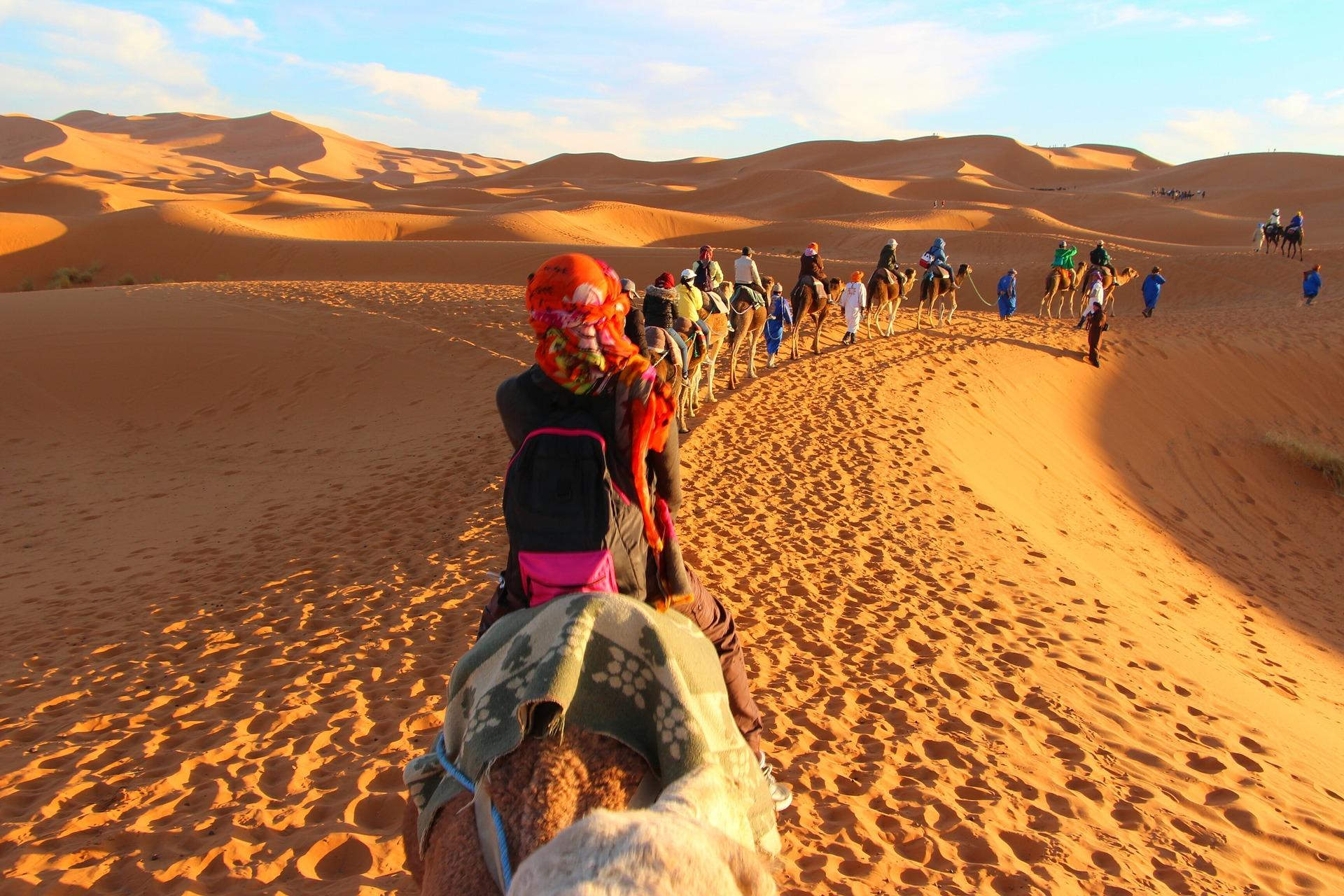 tura, pustinja, maroko, afrika, odmor